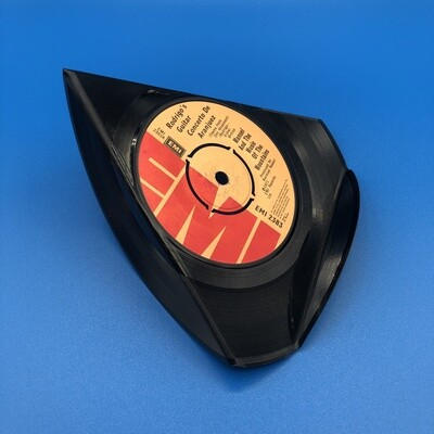 Upcycled Vinyl 7'' Single Phone Stand - 'Manuel And The Music Of The Mountains' Rodrigo's Guitar Concerto.