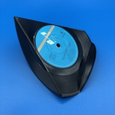 Upcycled Vinyl 7'' Single Phone Stand - 'The Lion Sleeps Tonight' Tight Fit.