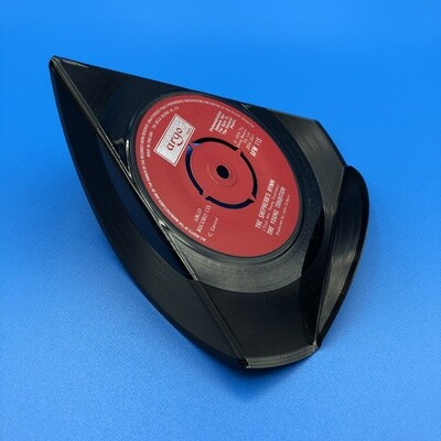 Upcycled Vinyl 7'' Single Phone Stand - 'The Shepherd's Hymn' The Young Tradition. Argo Records.