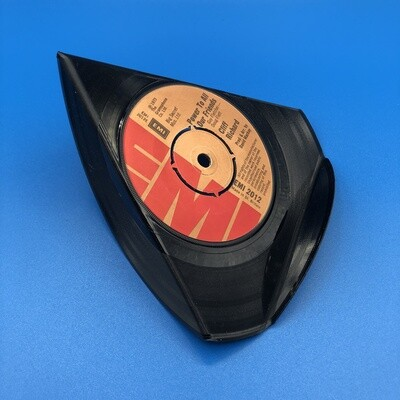 Upcycled Vinyl 7'' Single Phone Stand - 'Power To All Our Friends' Cliff Richard.