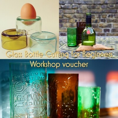 Glass Bottle Cutting for Beginners - Workshop Gift Certificate/voucher