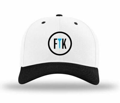 FTeeK Hat 212 (White/Black)