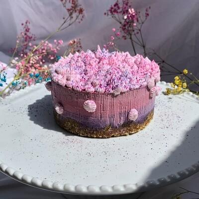 Безумный ягодный торт с суперфудами