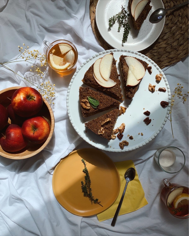 Passover apple pie