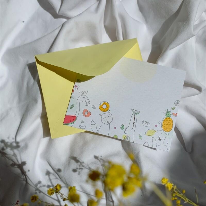 Маленькая открытка