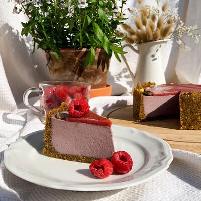 Pistachio raspberry