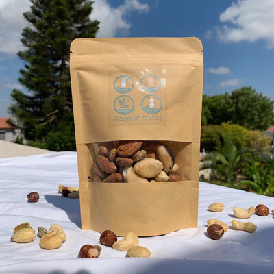 Activated nuts mix