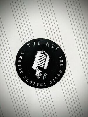 The MIC Logo Sticker