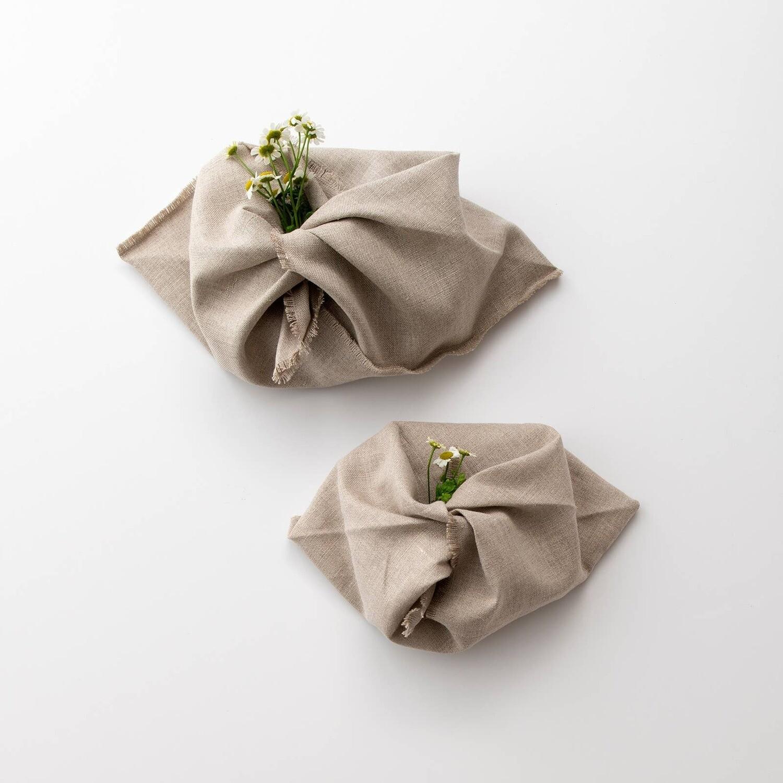 Linen Origami Bags