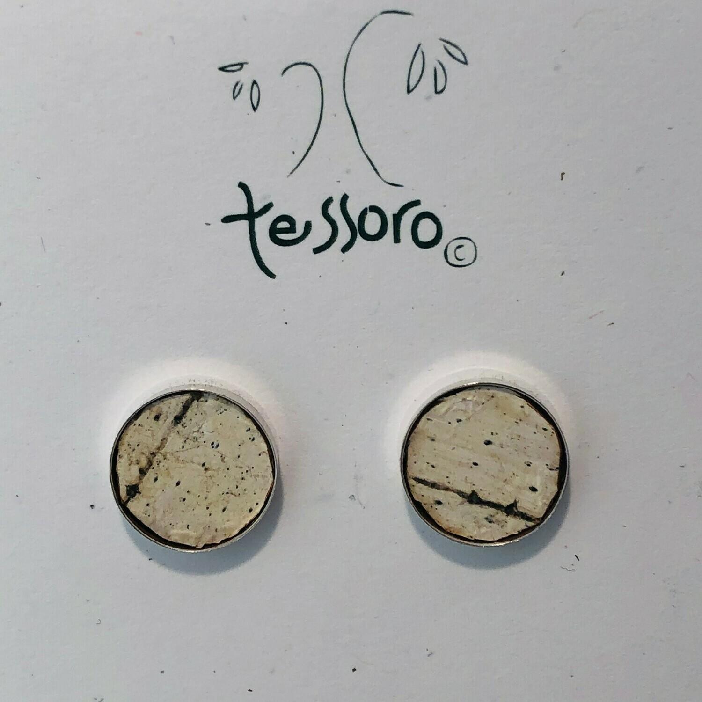 Birchbark Earrings (Sterling Silver)
