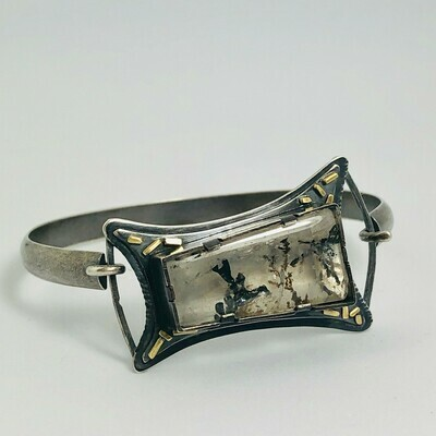Dendritic Quartz Tension Cuff