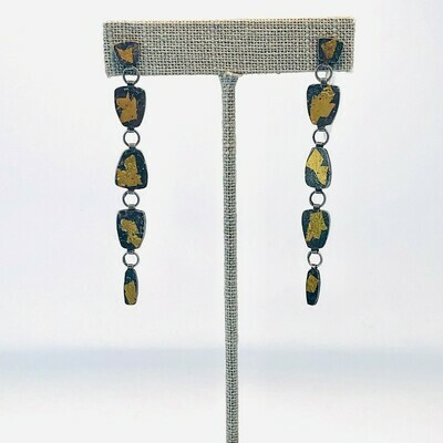 Long Reticulated Earrings