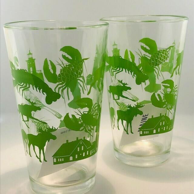 Maine Pint Glass