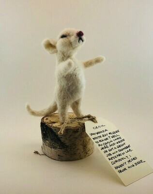 Evans Felted Mouse Cecil