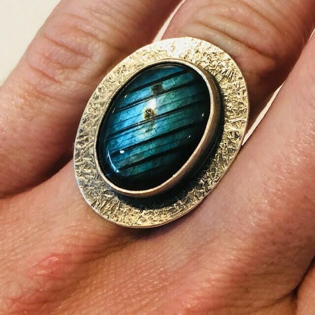 Labradorite Ring (6.25)