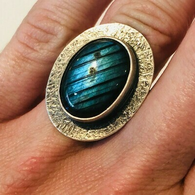 Labradorite Ring (6.25)