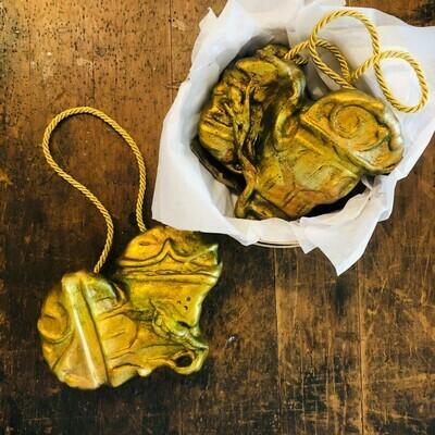 Corbett Hanging Gold Gift Heart Rattle