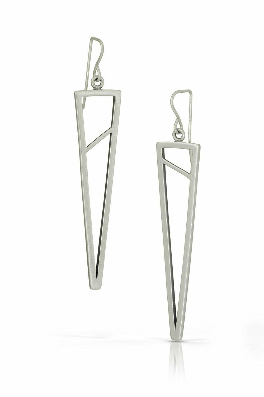 Tri-Shape Dangle Earrings