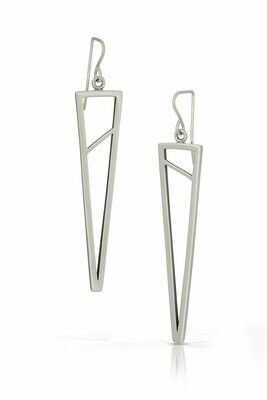 Tri-Shape Dangle Earrings