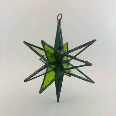 RM Stained Glass Moravian Star