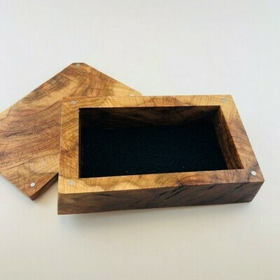 JHC Med Maple Burl Box