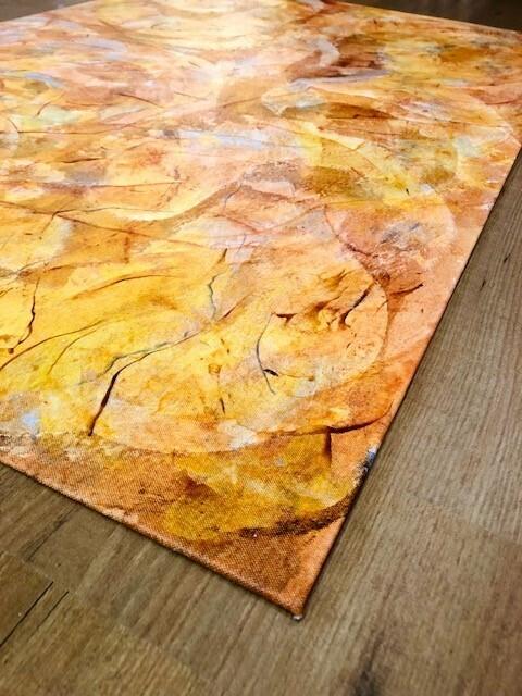 Macurdy Floorcloth (29.5X43.5) Orange