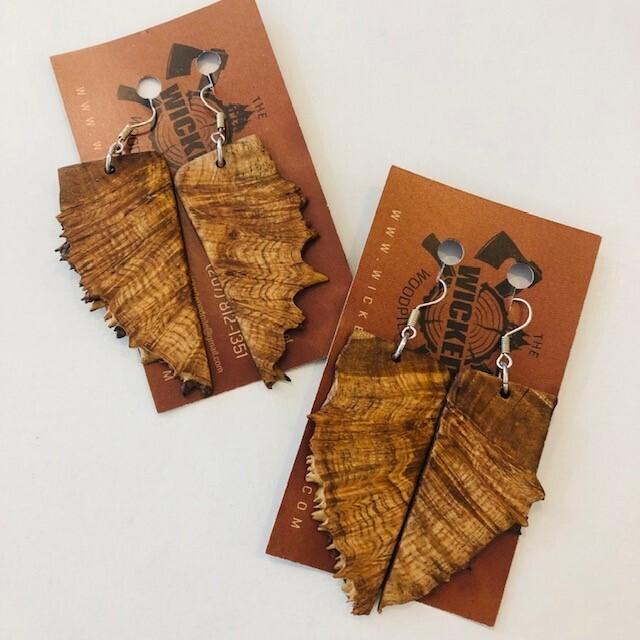Barker Wood Earrings