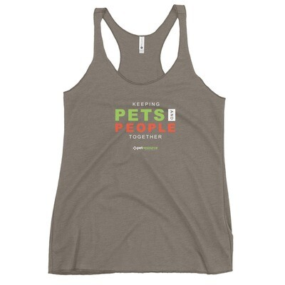 Keeping Pets and People Together Women's Tank Top