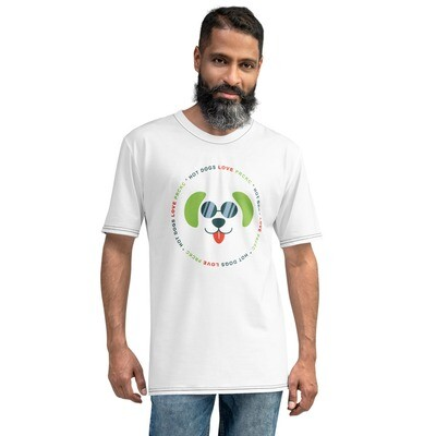 Keeping Pets and People Together Men's Wicking T-shirt