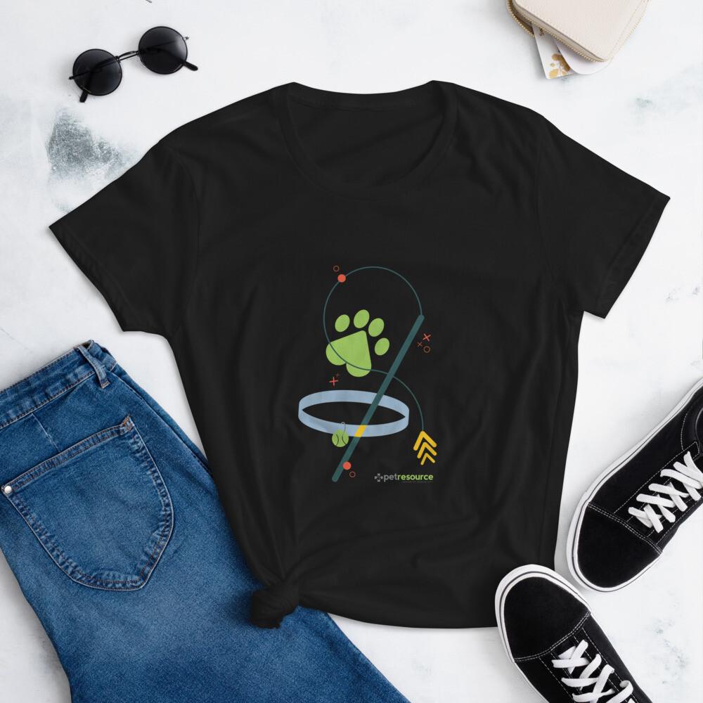 Cat Themed Women's short sleeve t-shirt