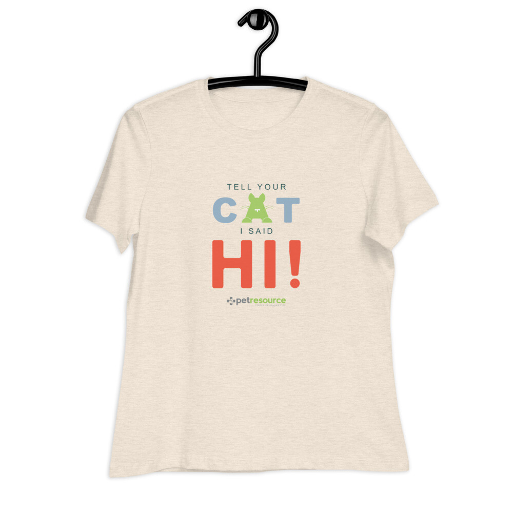 Tell your cat I said Hi!