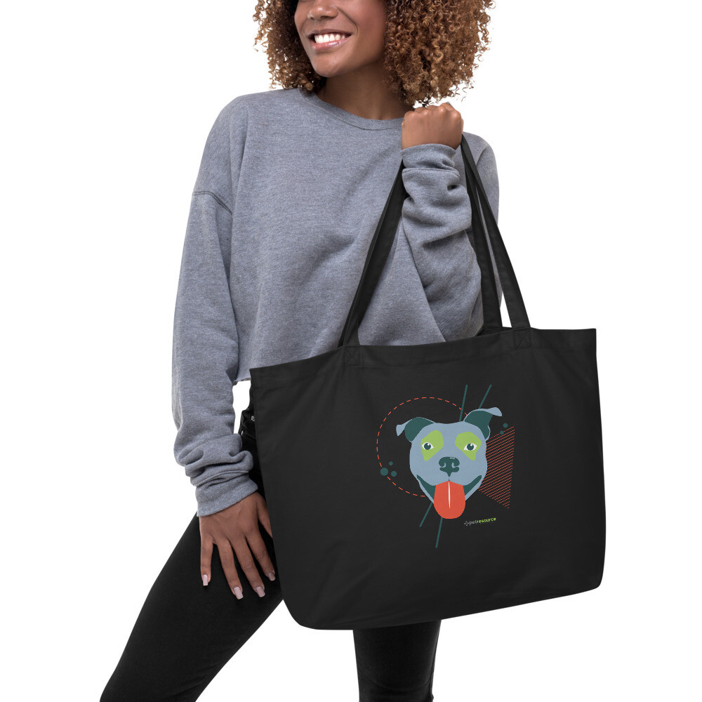 Pittie Love Tote Bag