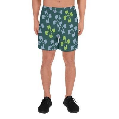 PRCKC Men's Athletic Long Shorts