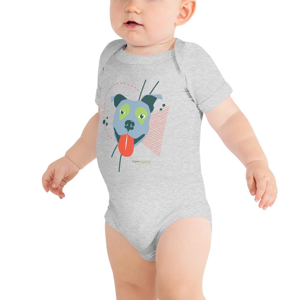 Pittie Love Baby Onesie