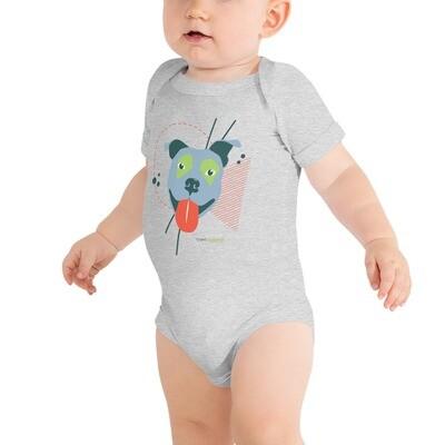 Pittie Love Baby Short Sleeve Onesie