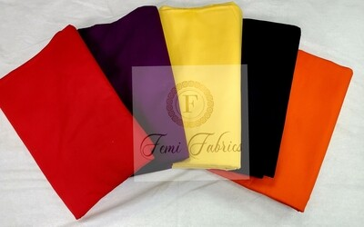 Scrap Pack-  SOLIDS/Ankara/African Fabric