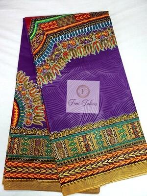 Purple Angelina Ankara/African Print