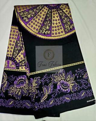 Purple Gold Black Egyptian