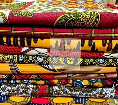Colorway Design Pack Red2/Ankara/African Fabric