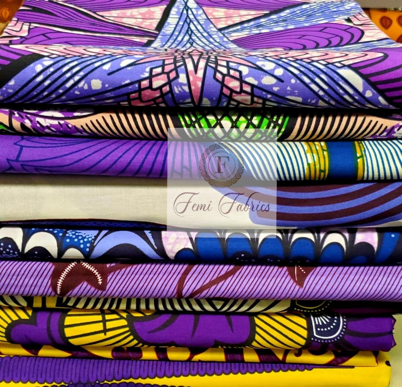 Colorway Design Pack Purple/Ankara/African Fabric