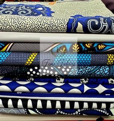 Colorway Design Pack Blue/Ankara/African Fabric