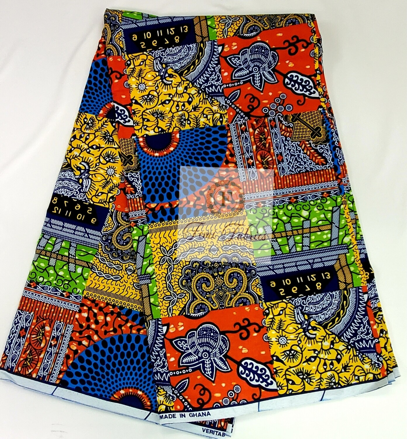 Colorful Patchwork/Ankara/African Fabric