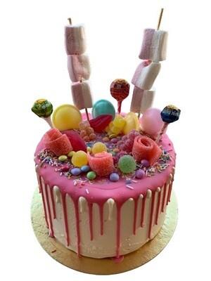 Candy Drip Cake