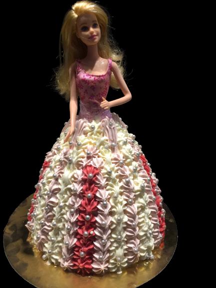 Barbiepop IJstaart Roze