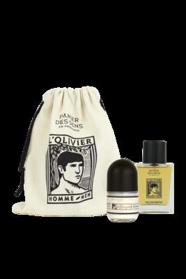 Tasje met Eau de Parfum en Deodorant L'Olivier 50 ml
