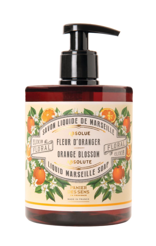 Vloeibare Marseillezeep 500 ml Oranjebloesem