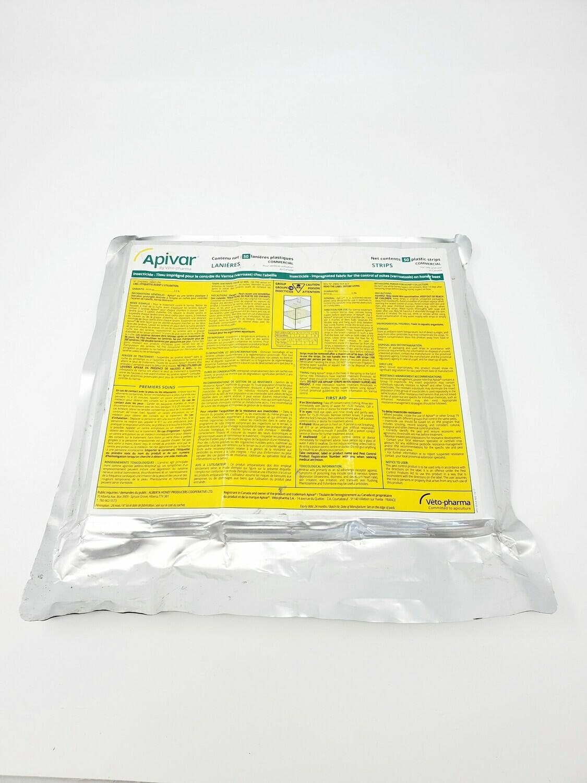 Apivar paquet de 50 languettes