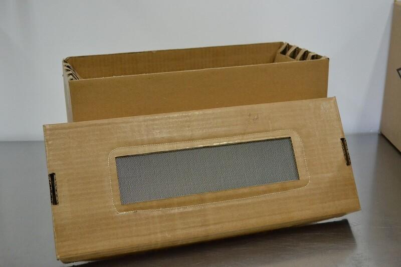 Cardboard Nuc Box vented
