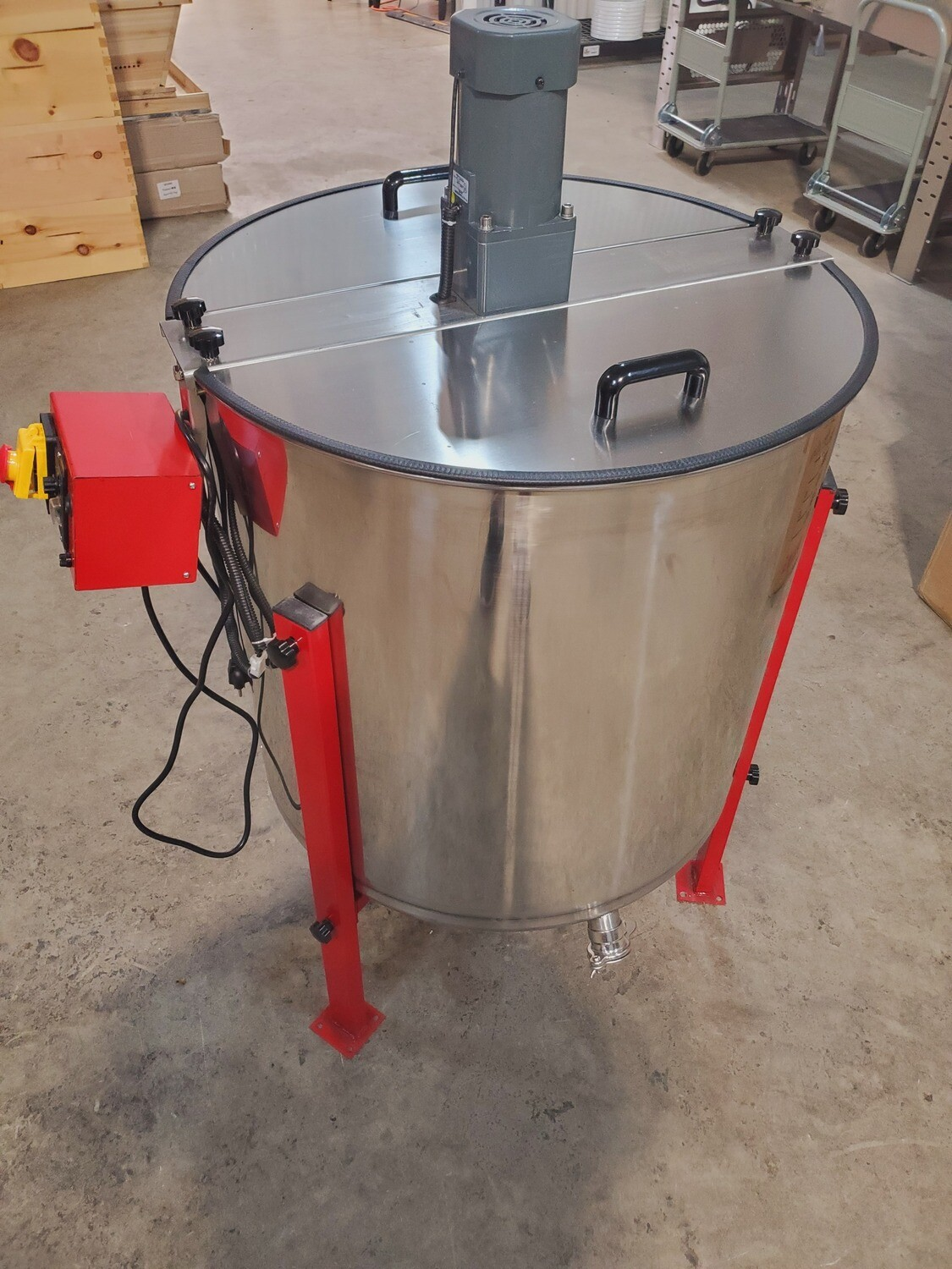 Electric 6 Frame Extractor