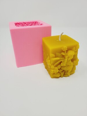Silicon Mould Candle - Angel